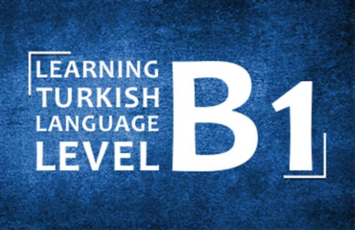 Turkish Language  Level: three, B1 103